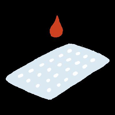 부직포 (흡수지) 아이콘